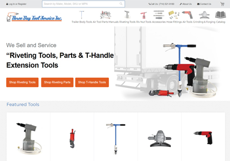 three day tool magento case study