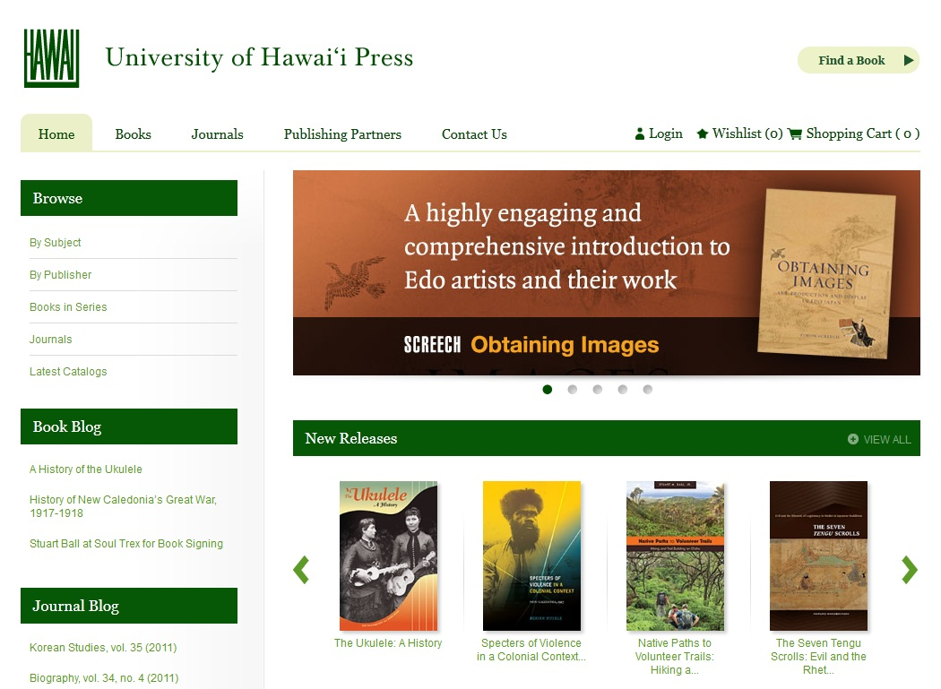 university of hawaii press