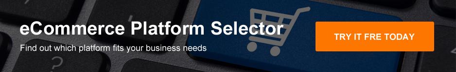 eCommerce platform selector banner