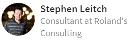 Stephen Leitch Consultant