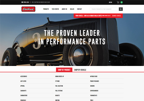 Edelbrock Magento 2 Project