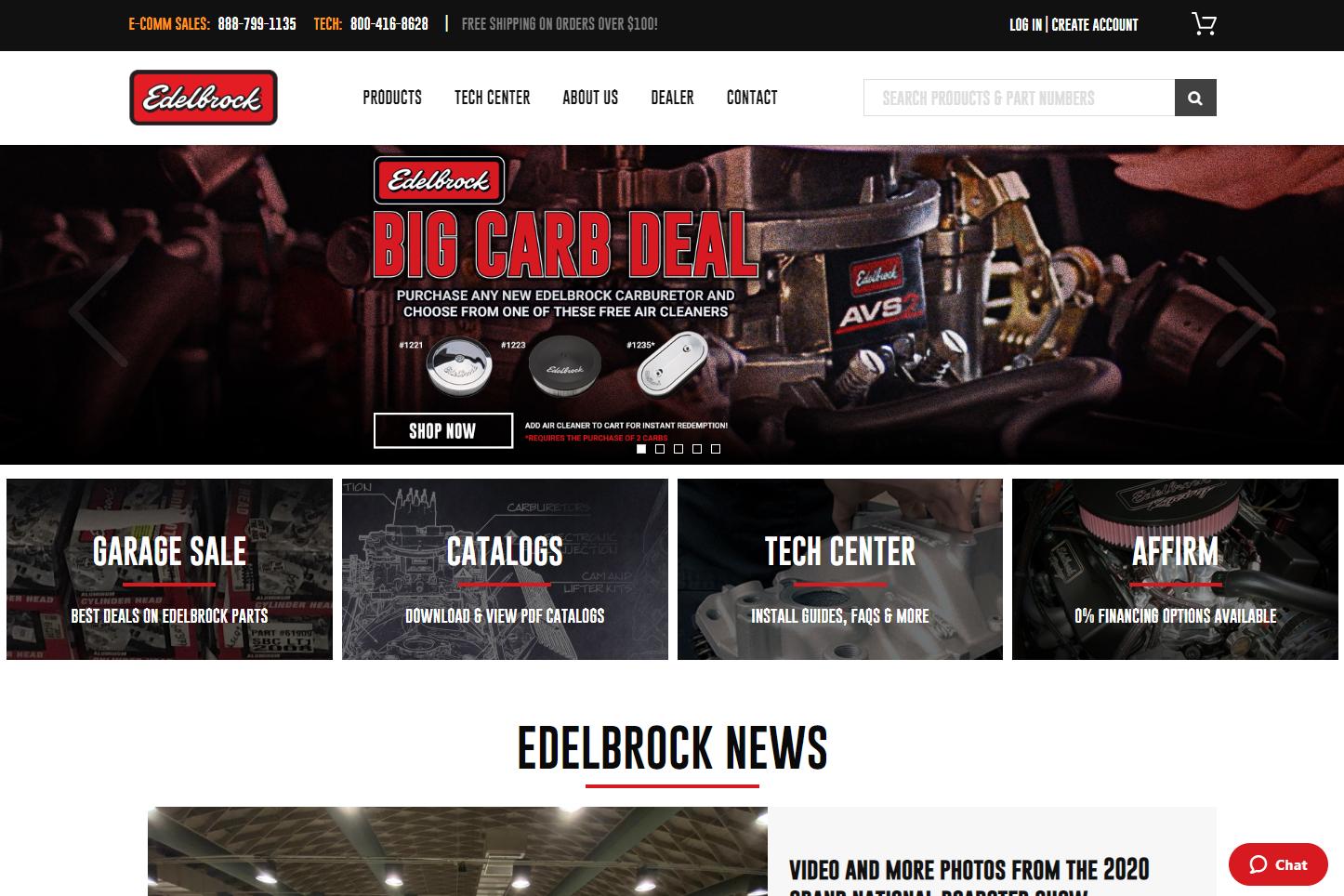 edelbrock case study