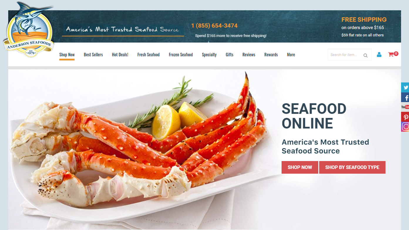 shop anderson seafoods